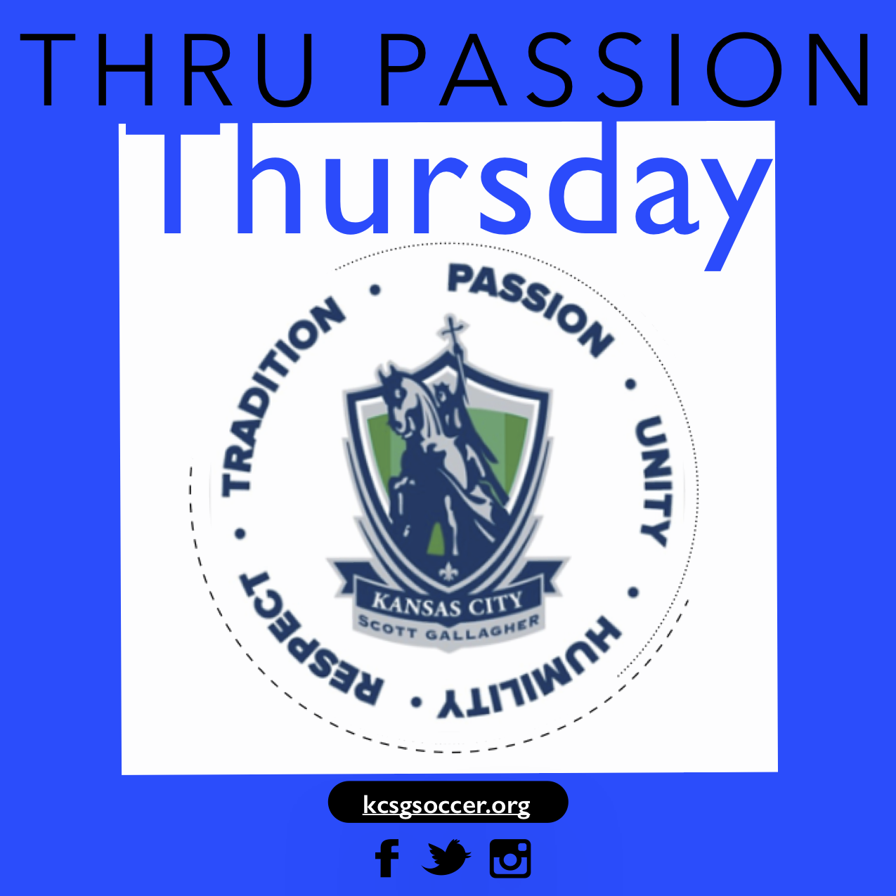 Thru Passion Thursday